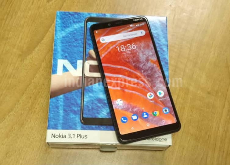 நோக்கியா 3.1 ப்ளஸ், Nokia 3.1 plus