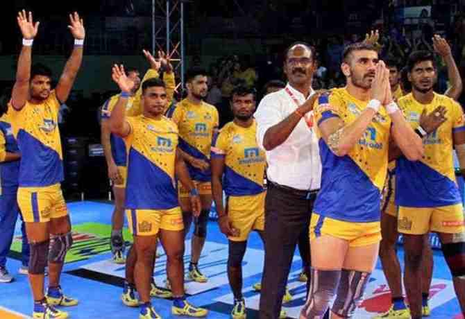 Tamil Thalaivas vs Patna Pirates Pro Kabaddi Season 6 Live Score: புரோ கபடி 2018, தமிழ் தலைவாஸ், சென்னை-பாட்னா அணிகள் மோதல்