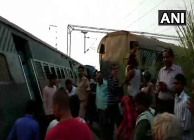 UP train accident