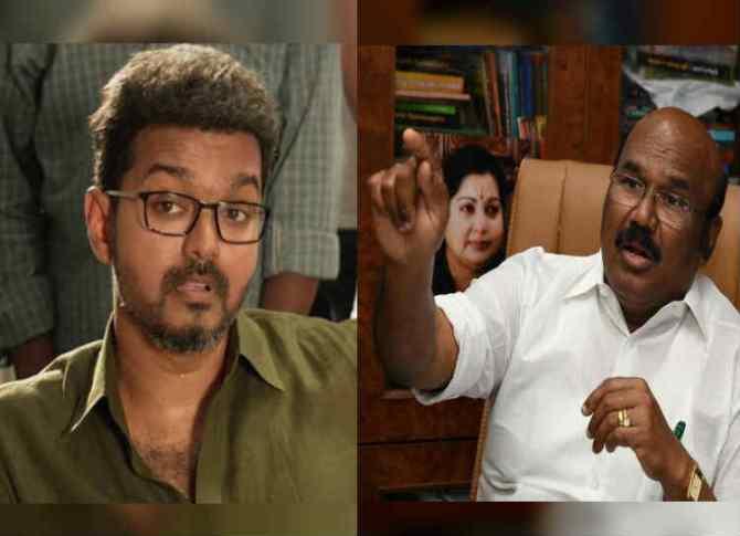 Minister Jayakumar on Sarkar movie, அமைச்சர் ஜெயகுமார்