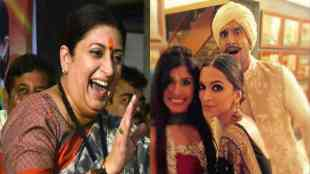 Smriti Irani about Deepveer wedding, ஸ்மிருதி இரானி