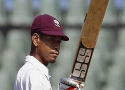 Kieran Powell WI vs Ban test cricket - கீரன் பவல்