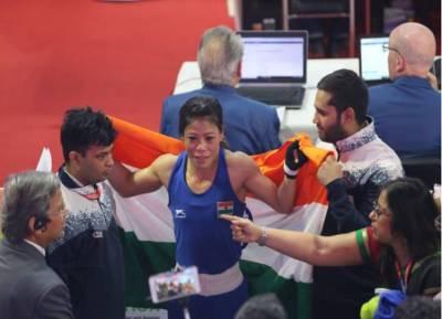 உலக பெண்கள் குத்துச்சண்டை போட்டி: 6வது தங்கம் வென்ற மேரி கோம்