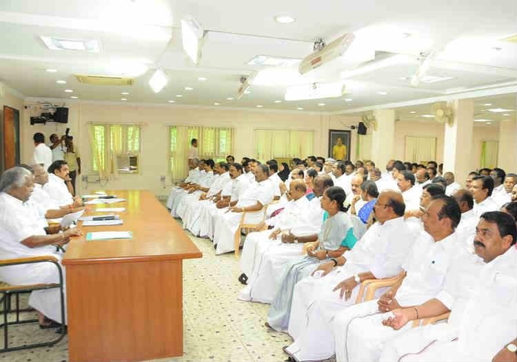 20 Constituencies By elections, AIADMK By Election incharges Meeting, முதல்வர் எடப்பாடி க.பழனிசாமி, அனைத்திந்திய அண்ணா திராவிட முன்னேற்றக் கழகம்