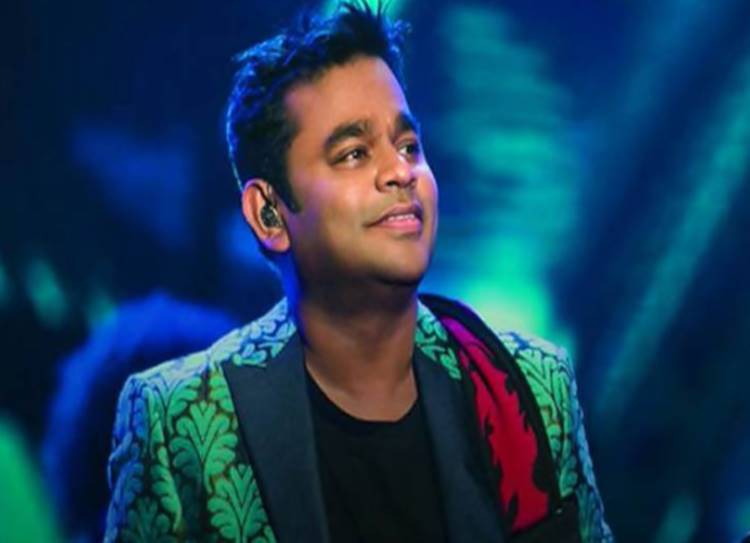 AR Rahman performed live with his daughters