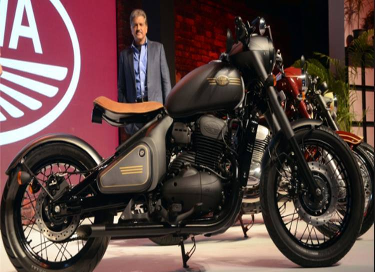 Java bikes introduced in india