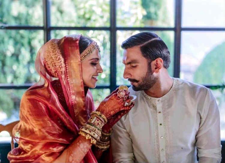 deepveer wedding photos, தீபிகா - ரன்வீர்