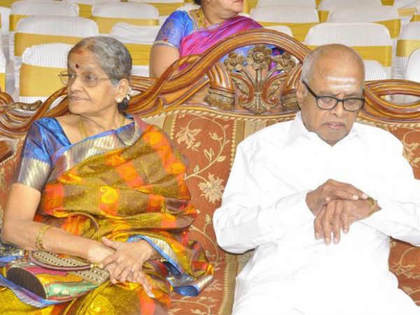 கே. பாலசந்தர் மனைவி ராஜம்