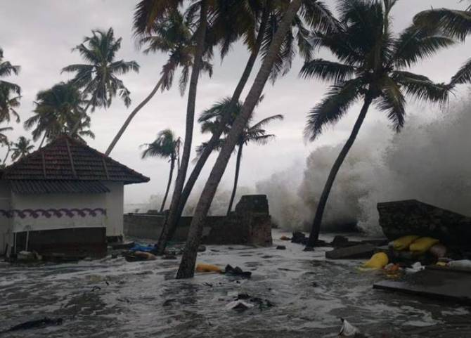 Cyclone Fani Today in Odisha,