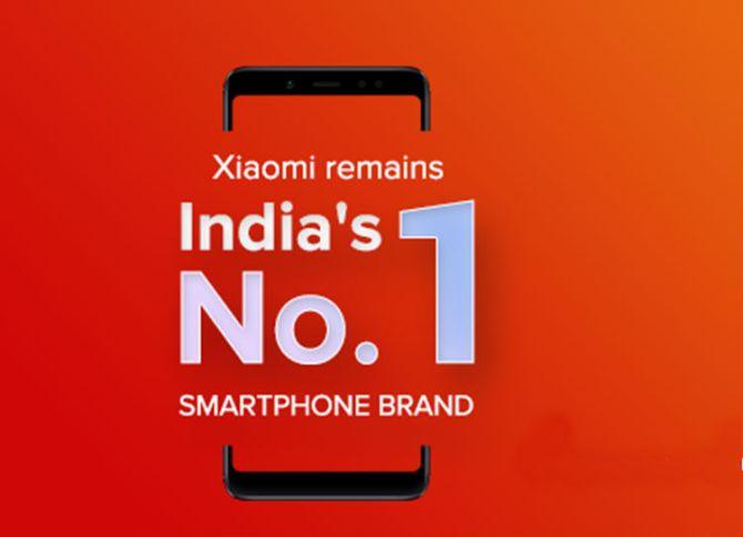 Top smartphone brands of 2018