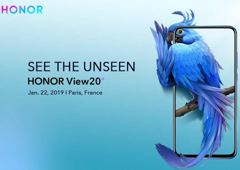 Honor View20 with 48MP Camera Launch