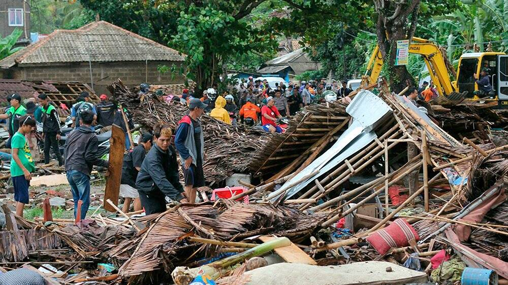 Indonesia tsunami, Tsunami in Indonesia Photos and videos,