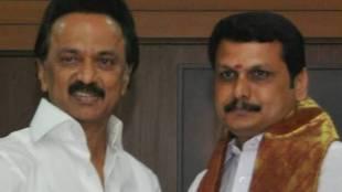 Karur V Senthil Balaji At DMK Head Quatress, Anna Arivalayam, செந்தில் பாலாஜி