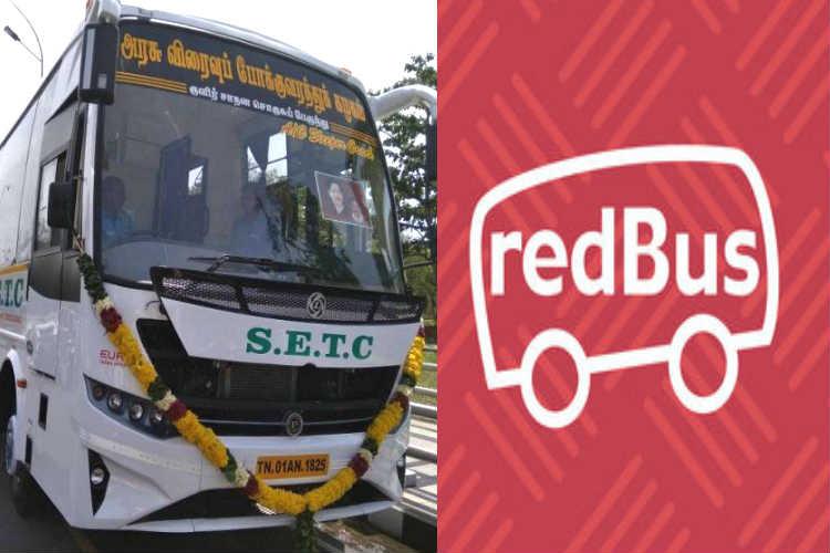 Tamil Nadu Govt Bus on redBus
