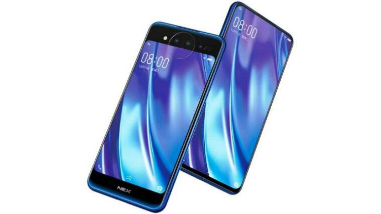 Smartphones with 10GB RAM, Vivo Nex Dual Display