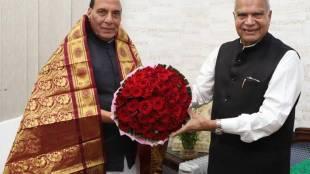 பன்வாரிலால் புரோஹித் நரேந்திர மோடி சந்திப்பு, பன்வாரிலால் புரோஹித் ராஜ்நாத் சிங் சந்திப்பு, Banwarilal Purohit met rajnath Singh and Narendra Modi in Delhi