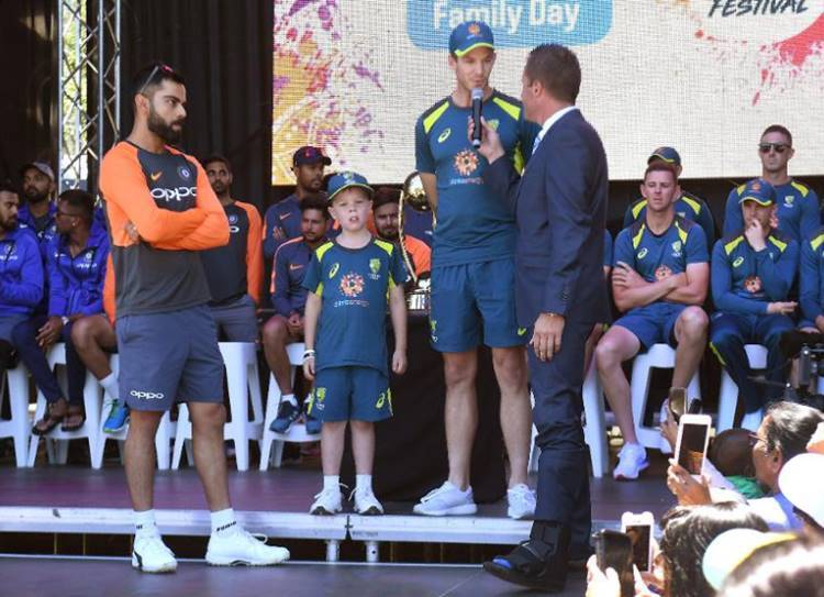 Young Archie Schiller to co-captain Australia in Boxing Day Test - இந்தியா, ஆஸ்திரேலியா 3வது டெஸ்ட் போட்டி: ஆஸி., அணியில் 7 வயது சிறுவன் சேர்ப்பு! விராட் கோலி ஆச்சர்யம்