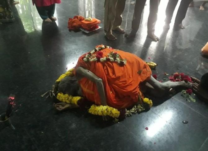 திருவண்ணாமலை மூக்குப்பொடி சித்தர் காலமானார்