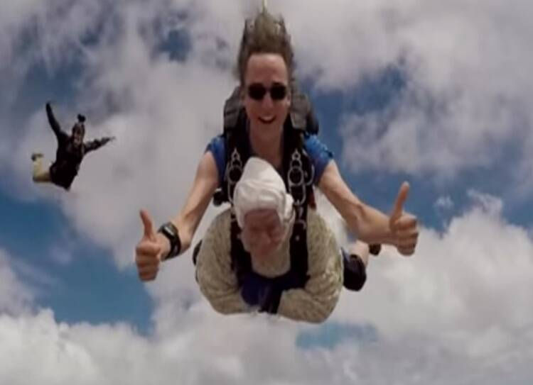 This 102-year-old woman is now the oldest skydiver in the world
