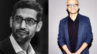 Sundar Pichai and Satya Nadella, Top Indian CEOs in United States, Sundar Pichai and Satya Nadella are top CEOs in US,
