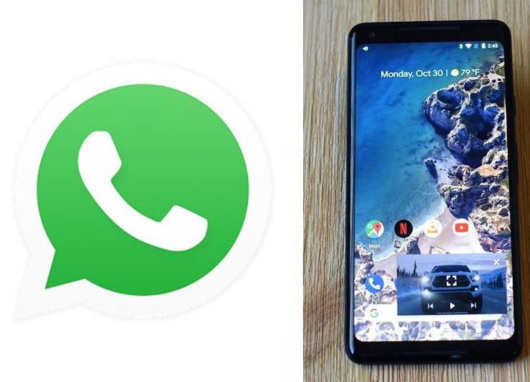 Whatsapp new update PiP Mode