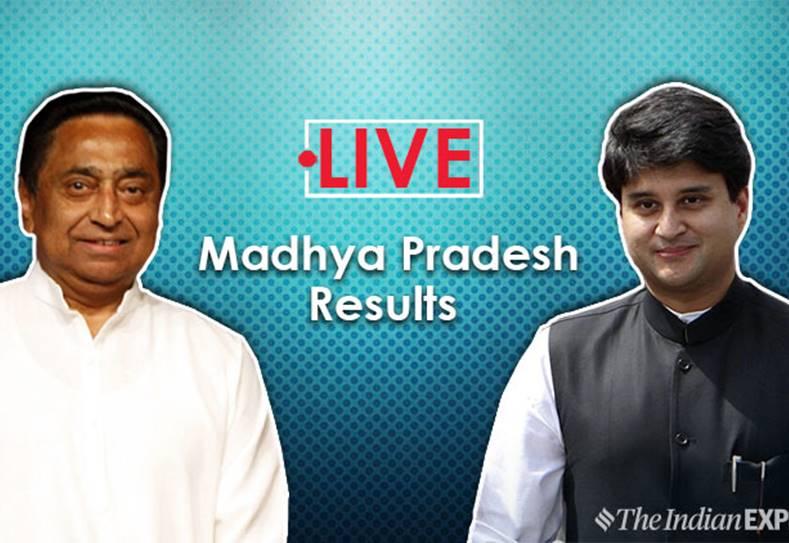Madhya Pradesh Assembly election results 2018