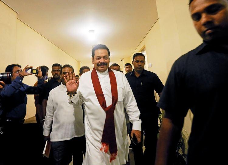 Mahinda Rajapaksa, ராஜபக்சே, மைத்ரிபாலா சிறிசேனா