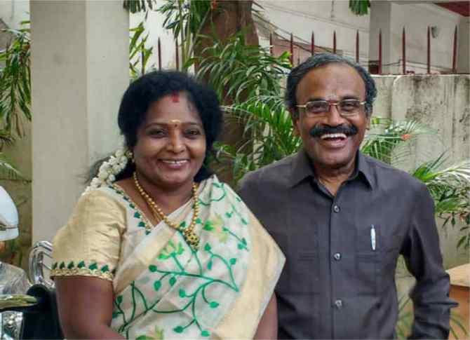 tamilisai soundarrajan husband, தமிழிசை சவுந்தரராஜன்