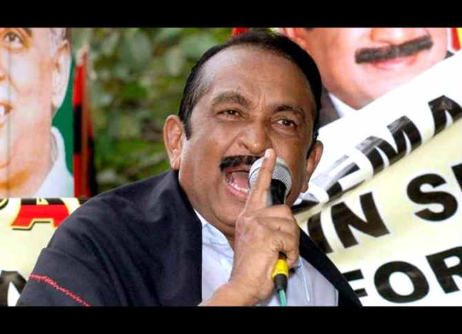 Defamation case against Vaiko