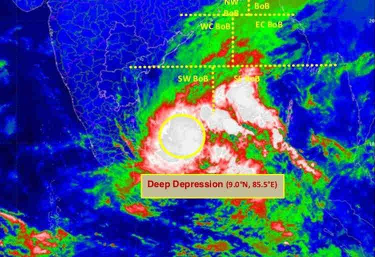 Cyclone Pethai Bay Of Bengal Heavy Rain Tamilnadu; பெதாய் புயல் வங்கக் கடலில் உருவானது, சென்னை மழை