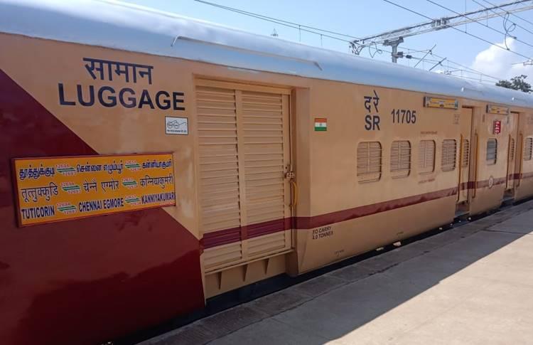 IRCTC Kanyakumari Muthunagar Express Trains, New Facilities-கன்னியாகுமரி, முத்துநகர் எக்ஸ்பிரஸ் ரயில்களில் 12 புதிய வசதிகள்