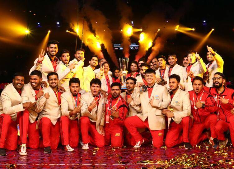 Bengaluru Bulls won Pro Kabaddi season 6