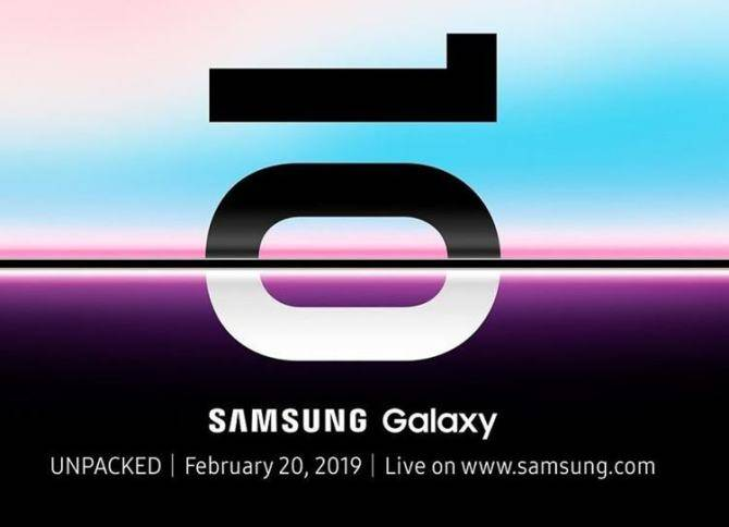 Samsung Galaxy S10 launch
