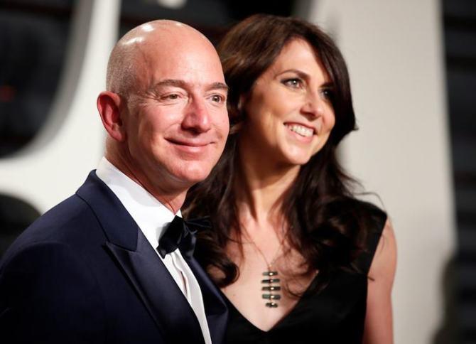 Jeff Bezos Divorces MacKenzie