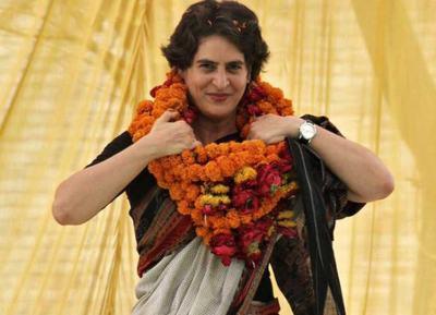 Priyanka Gandhi Congress Party New Chief