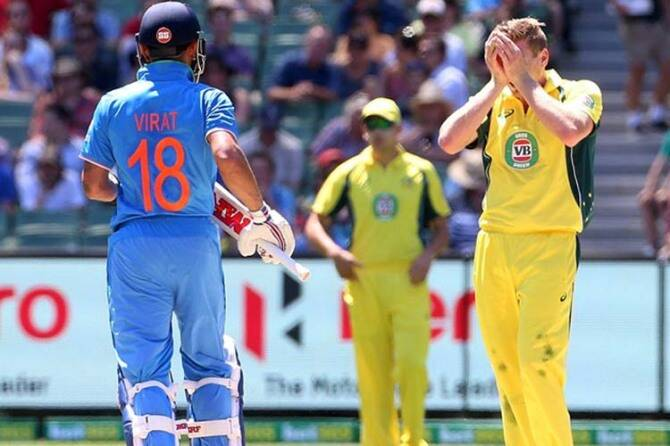 India v Australia, cricket score, Australia v India, MS Dhoni, Virat Kohli, Hardik Pandya, KL Rahul, Indian cricket team, Australian cricket team,- இந்திய-ஆஸ்திரேலியா- கிரிக்கெட் ஸ்கோர் - ஒரு நாள் தொடர், ஒரு நாள் தொடர் - ஹர்திக் பாண்டியா - தோனி