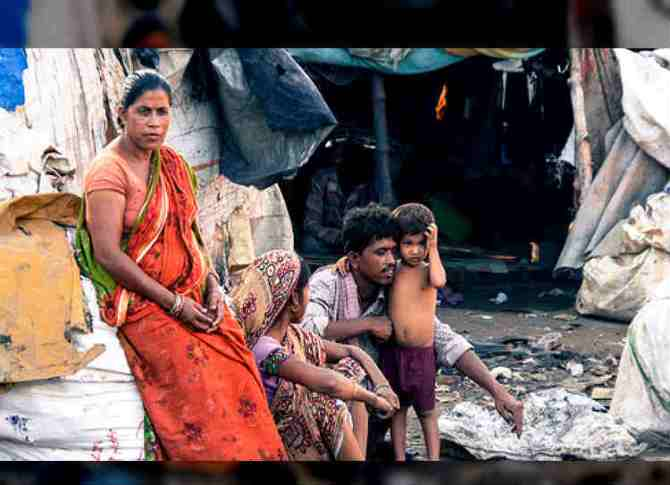 India Poverty, ஏழைகளின் எண்ணிக்கை
