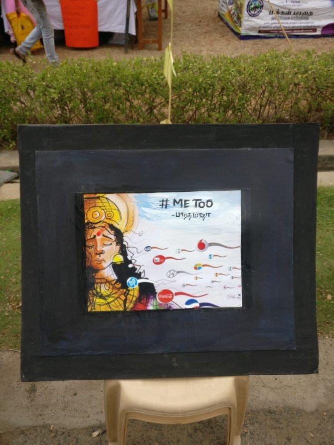 Loyola, Anti-Hindu Paintings, Loyola College arts exhibition, Narendra Modi, H Raja, BJP, Loyola College, Tamilisai Soundarajan, Tamil Nadu BJP, Hindutva - லயோலா கல்லூரி, லயோலா, இந்துமதம் பாஜக சர்ச்சை ஓவியங்கள் லயோலா ஹெட்ச் ராஜா தமிழிசை சௌந்தராஜன்