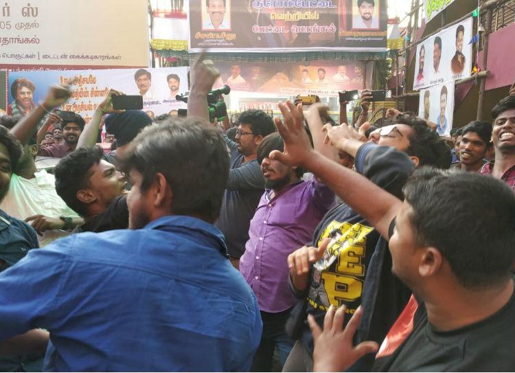Petta Movie Celebrations in chennai