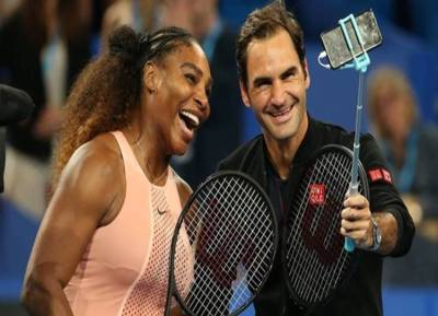 Roger Federer emerges victorious in historic clash with Serena Williams - டென்னிஸ் ரசிகர்களுக்கு மெகா விருந்து! வரலாற்றில் முதன்முறையாக மோதிய ஃபெடரர், செரீனா
