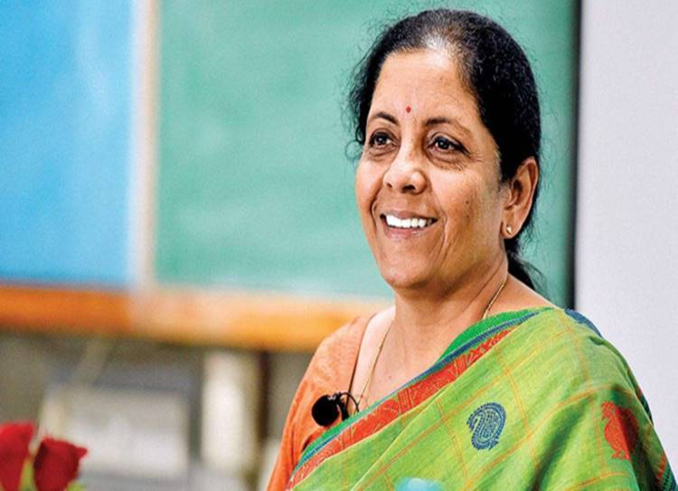 nirmala sitharaman today conference live