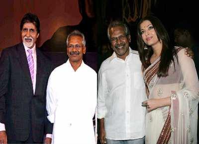 amitabh bachchan and aishwarya rai to act in maniratnam film, அமிதாப் பச்சன்