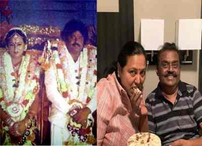 captain vijayakanth wedding anniversary, விஜயகாந்த்