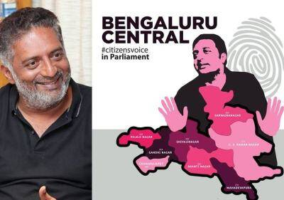 Actor Prakash Raj to contest in Lok Sabha polls from Bangaluru Central
