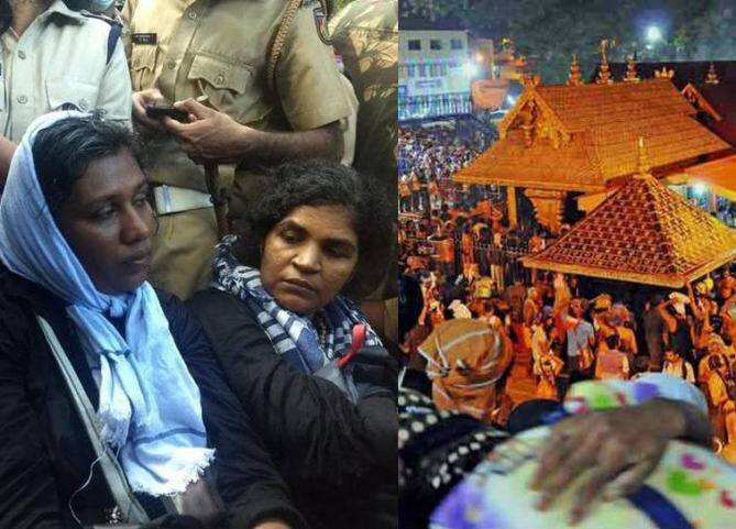Two Women Entered Sabarimala, Woman entered Sabarimala temple facing trouble