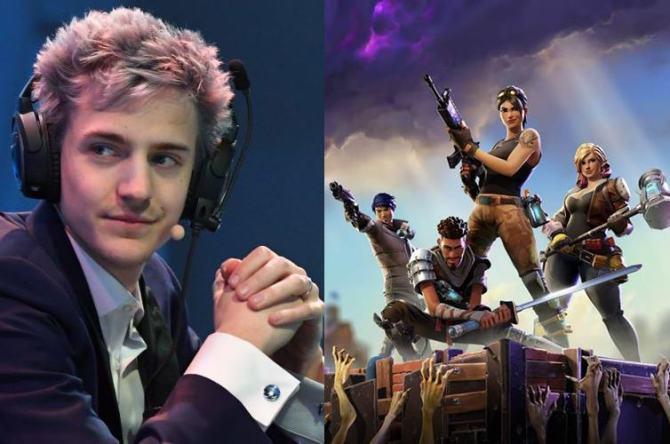Fortnite Battle Royale Player Tyler Blevins