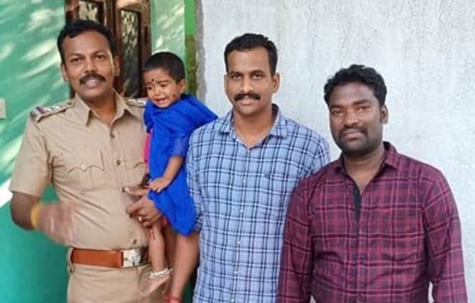 Harini Rescued, ஹரிணி மீட்பு, நாடோடி சமூக சிறுமி