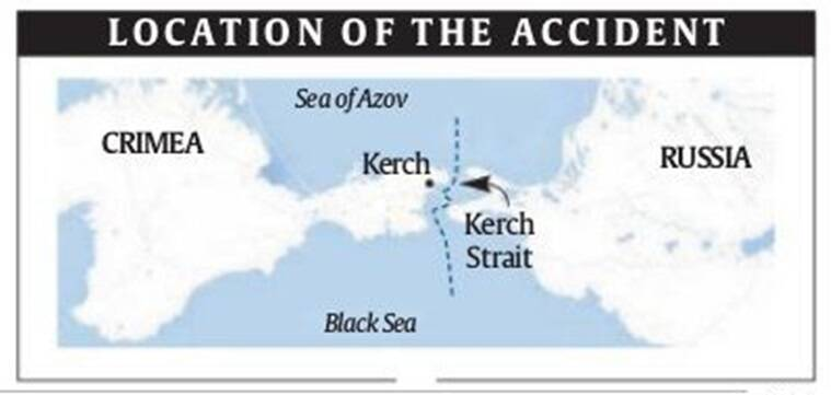 Kerch Strait Ships Accident