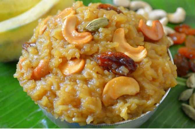 Khara Pongal Recipe in Tamil, வெண் பொங்கல், சர்க்கரைப் பொங்கல்