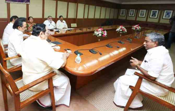 Poondi Kalaivanan, Thiruvarur By Election Four Corner Contest Confirmed பூண்டி கலைவாணன் திமுக வேட்பாளர்